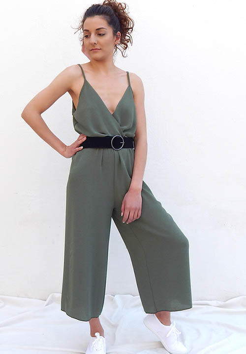 Monsoon Khaki Jumpsuit