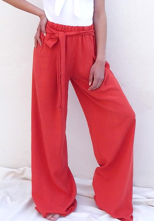 Roomy Red Pants (SOLD OUT)