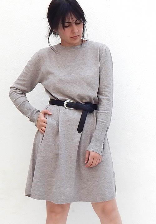 Chestnut Beige Dress