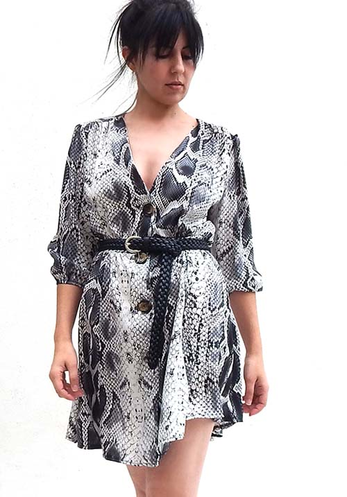 Snake Print Dress (SOLD OUT)