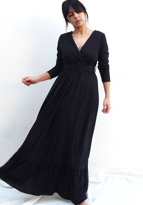Bonfire Black Dress