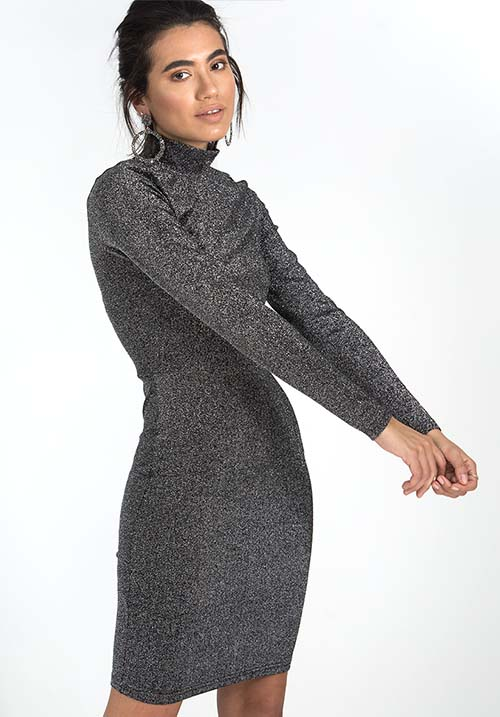 Enchanted Grey Dress