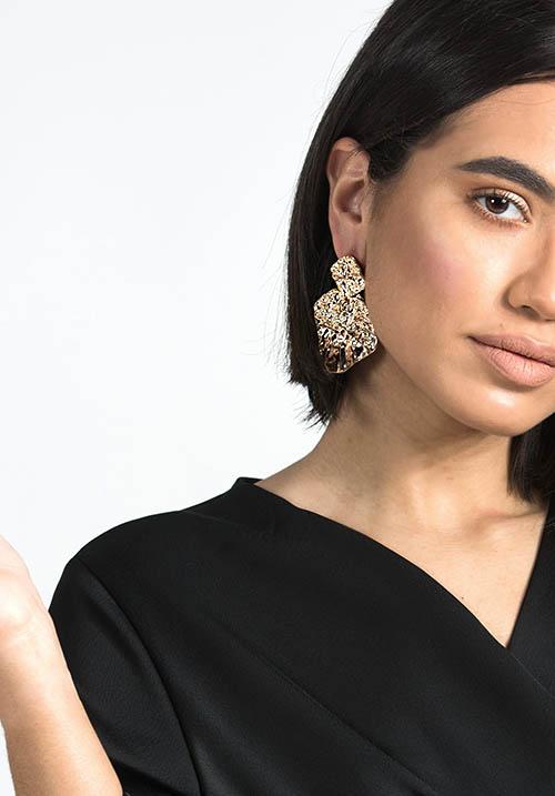 Cara Golden Earings