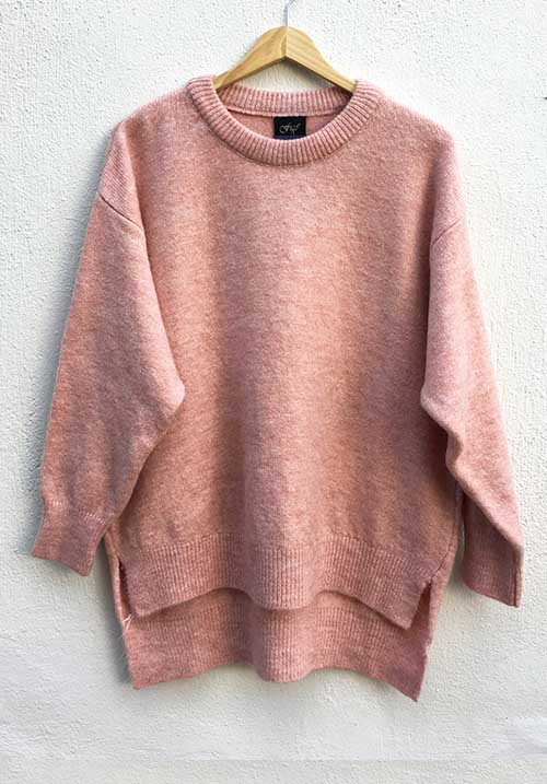 Wintry Blush Knit (SOLD OUT)
