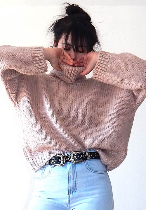 Windy Day Blush Knit