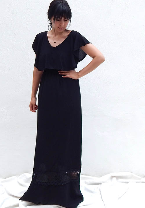 Serendipity Black Dress
