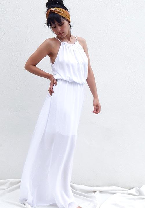 Getaway White Dress