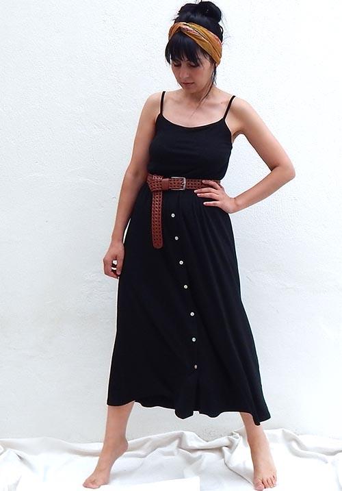 Jojoba Black Dress (SOLD OUT)
