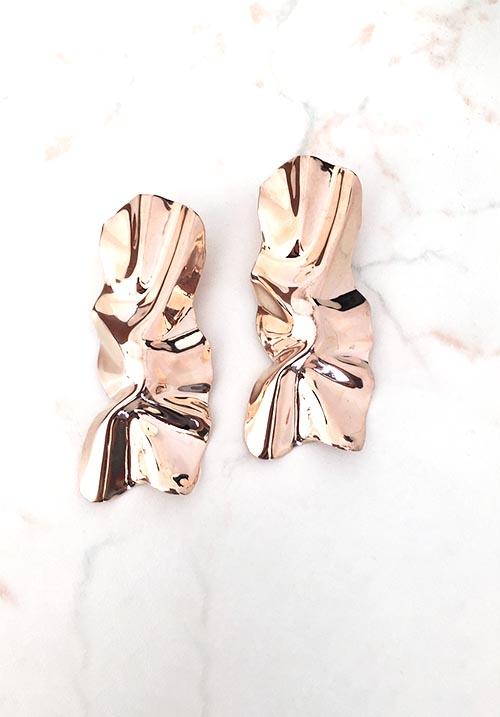 Tatty Golden Earrings