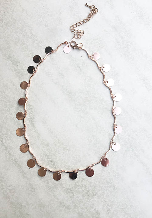 Tingly Rose Gold Necklace