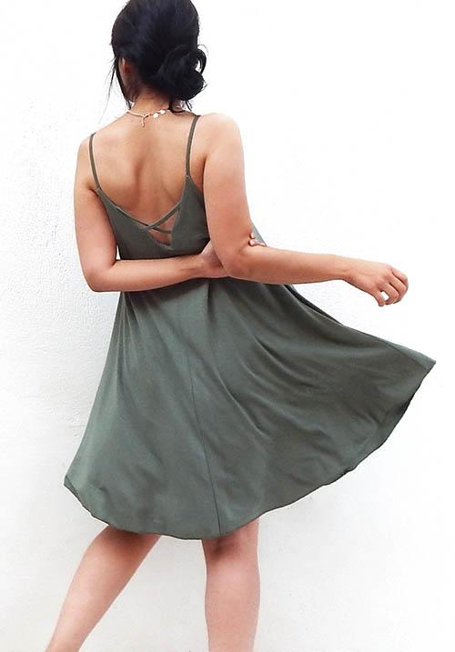 Easy Going Khaki Dress