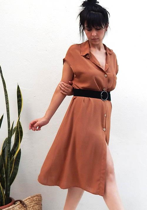 Traveller Camel Dress (SOLD OUT)