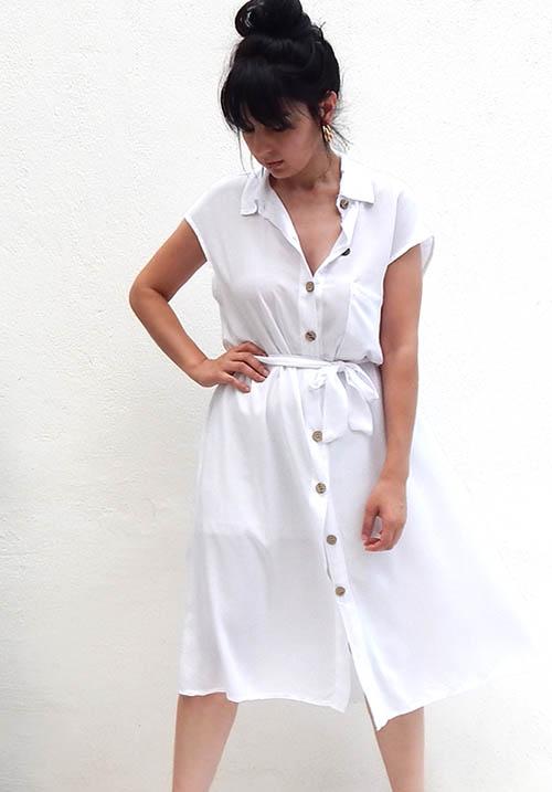 Traveller White Dress