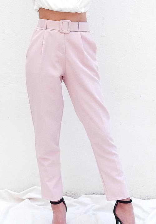 Belt Pink Pants