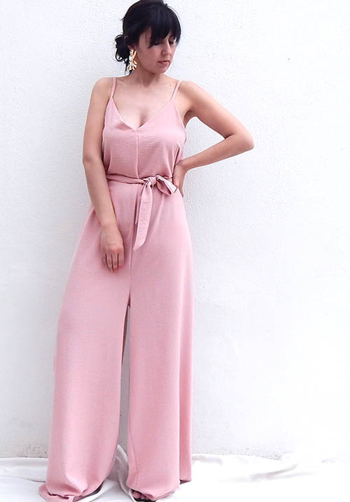 Julep Rose Jumpsuit