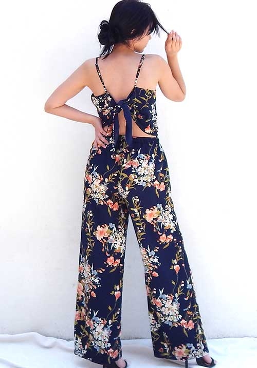 Mimosa Blue Jumpsuit