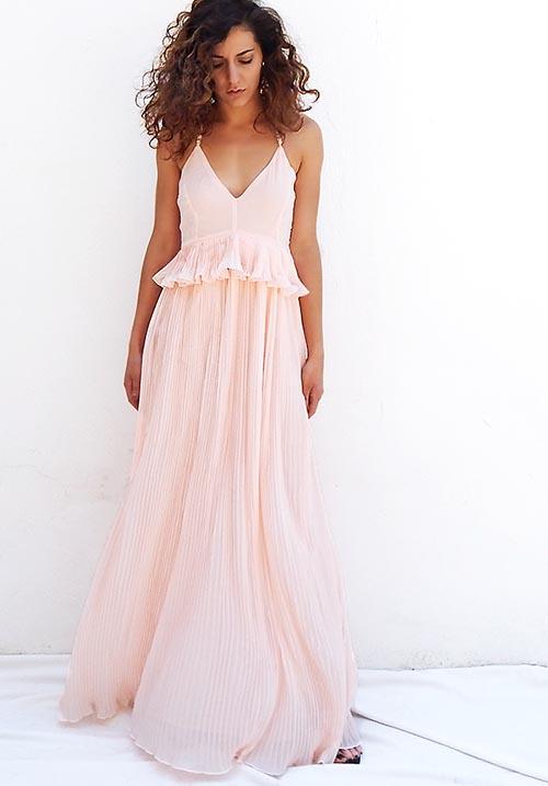 Gin Fizz Nude Dress