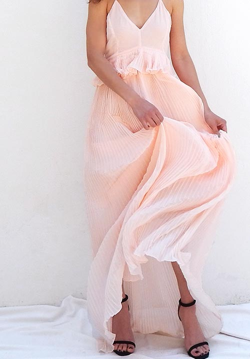 Gin Fizz Nude Dress