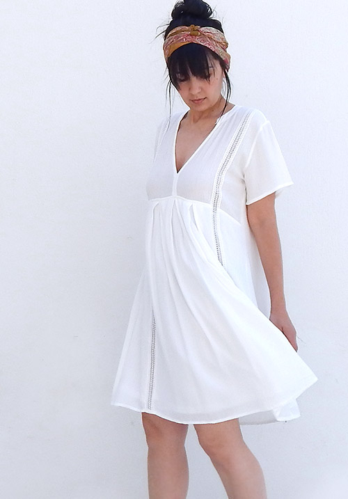 Lydia White Dress