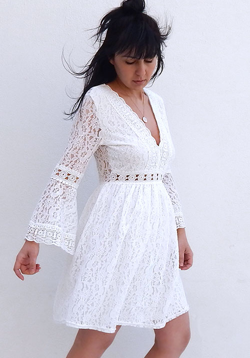 My Bohemian Lace Dress