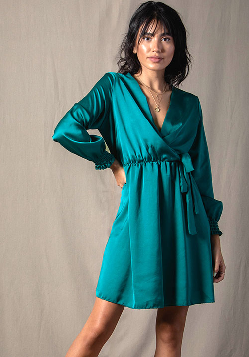 Soulmate Emerald Dress