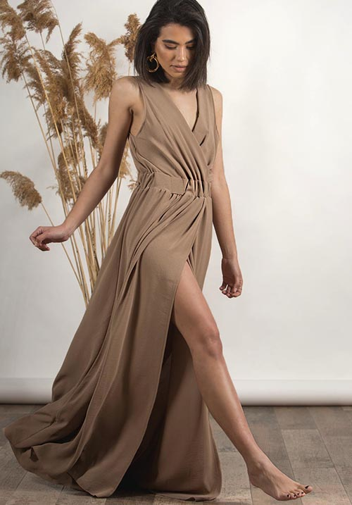 Antelope Beige Dress