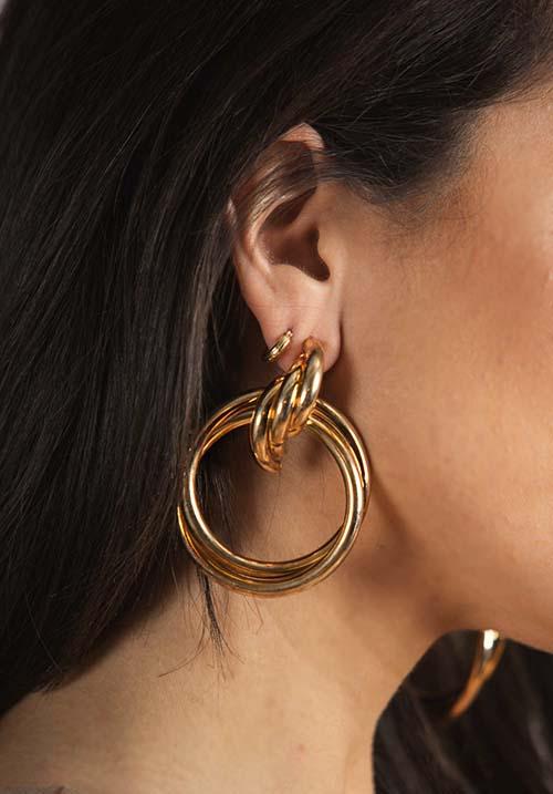 Luscious Gold Earings