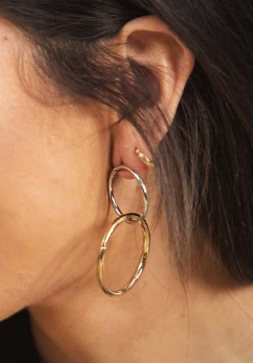 Mixed Metals Earings