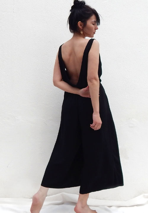 Maui Black Jumpsuit