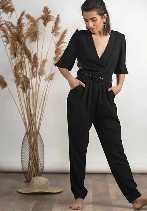 Eldorado Black Jumpsuit