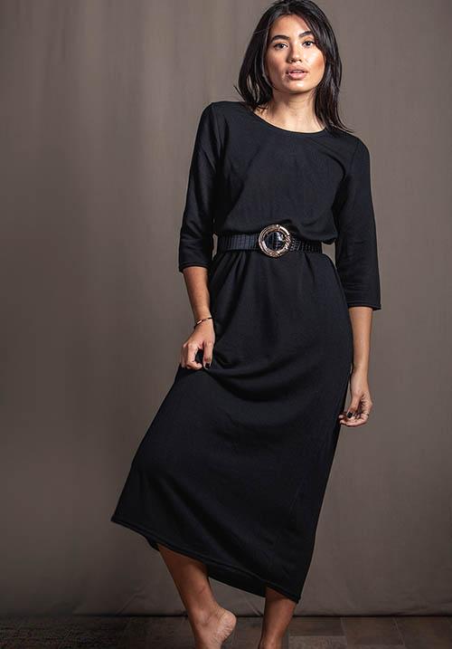 Chimney Black Dress (SOLD OUT)