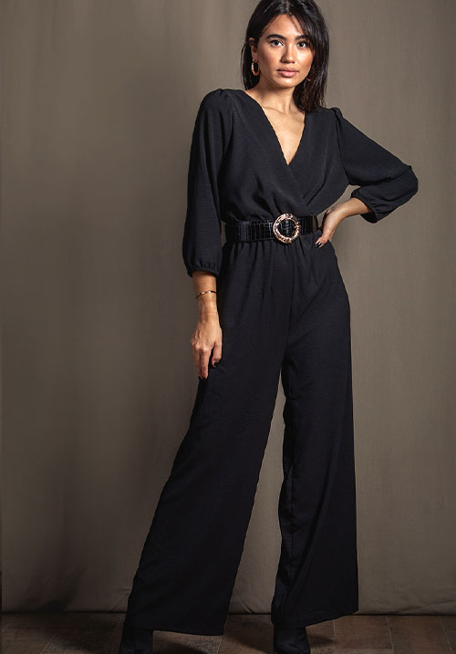 Glacier Black Jumpsuit (SOLD OUT)