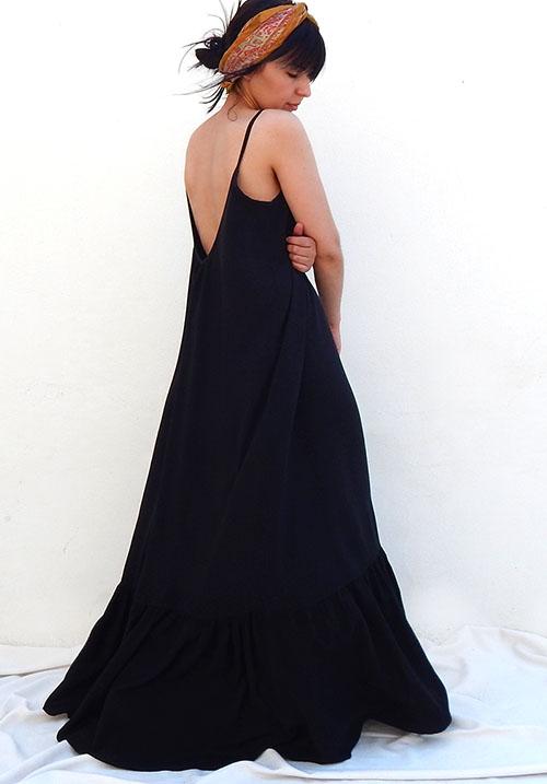 Primrose Black Dress