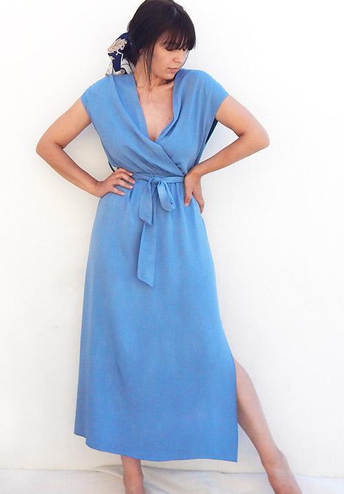 Anemone Baby Blue Dress