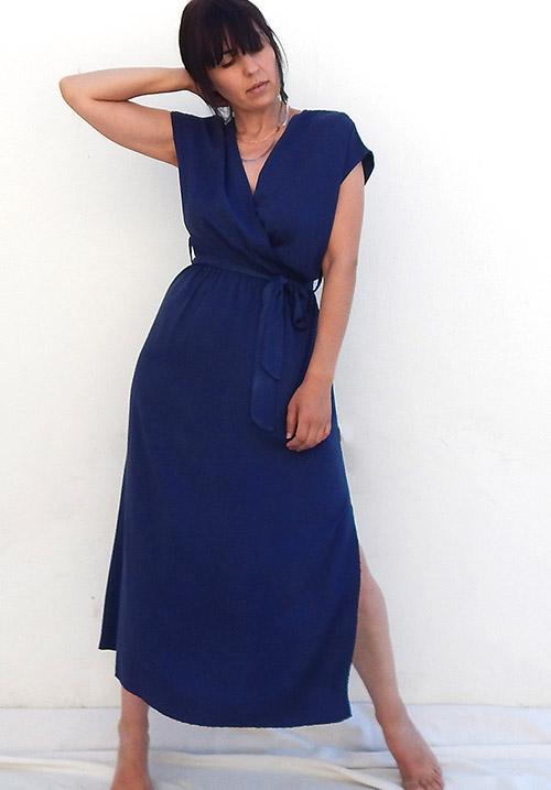 Anemone Blue Dress