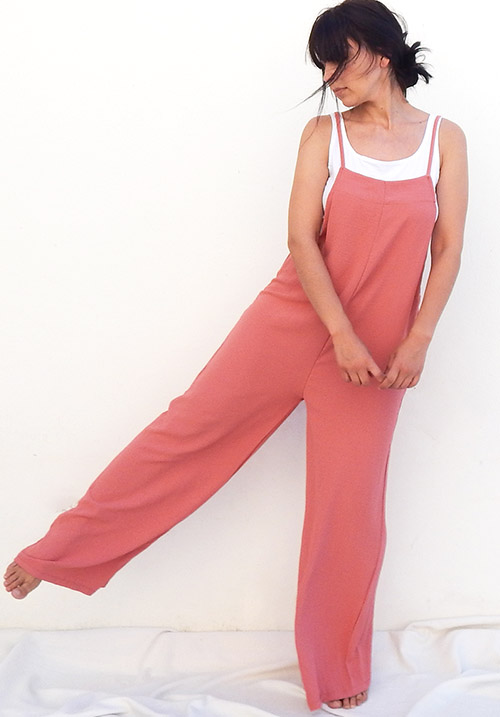 Overall Pink Jumpsuit