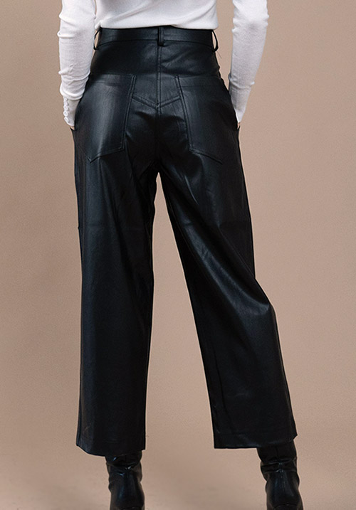 Sloushy Leather Pants