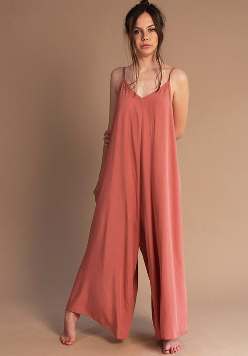 Seashore Peach Jumpsuit (SOLD OUT)