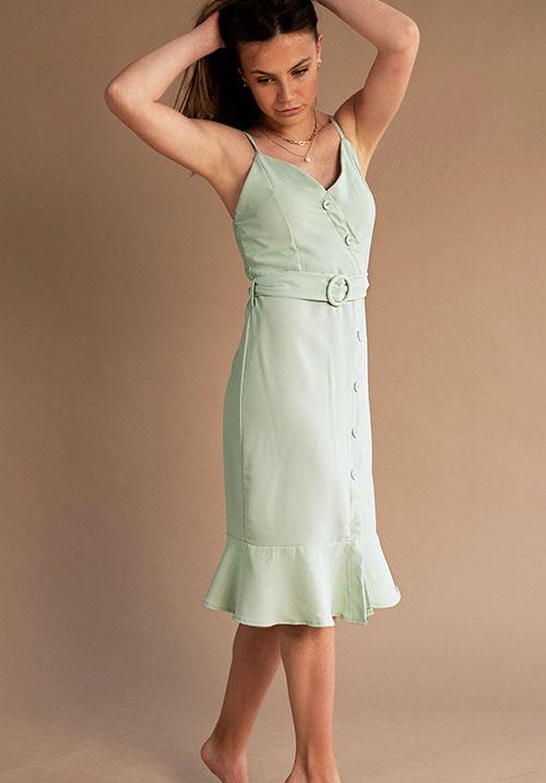 Popsicle Mint Dress