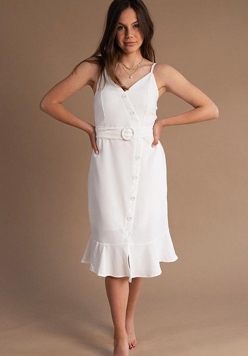Popsicle White Dress