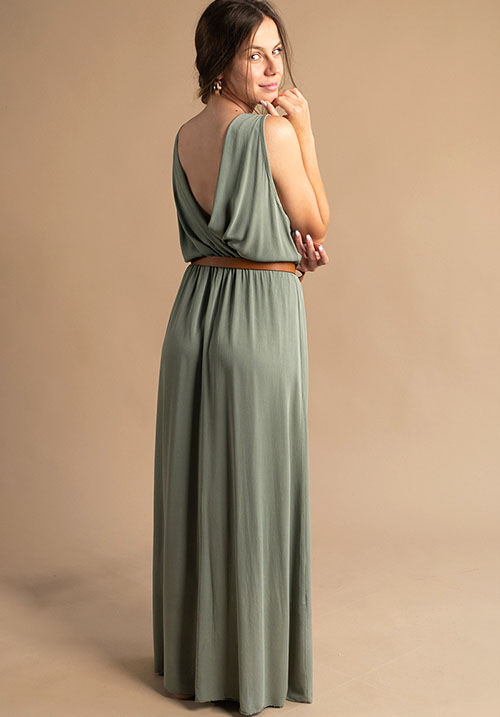 Saltwater Khaki Dress