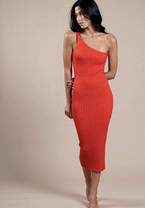 Acorn Orange Dress (SOLD OUT)