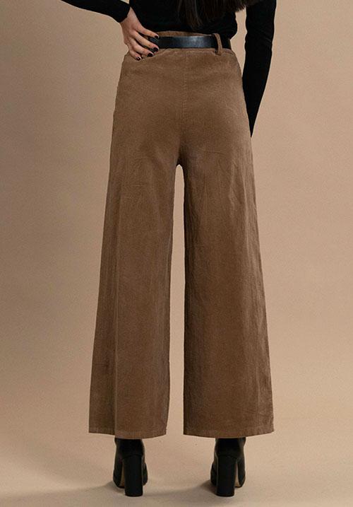 Corduroy Camel Pants