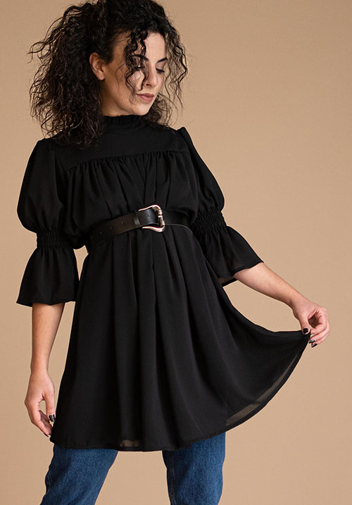 Belle Fille Black Tunic