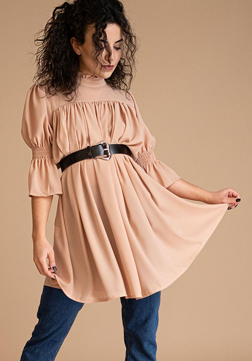 Belle Fille Nude Tunic (SOLD OUT)