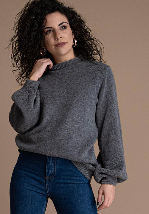 Chanson Gris Pullover
