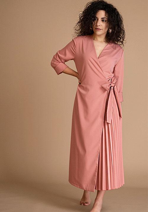 Ville Rose Dress