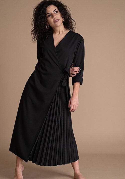 Ville Black Dress