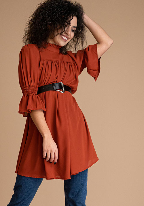 Belle Fille Rust Tunic