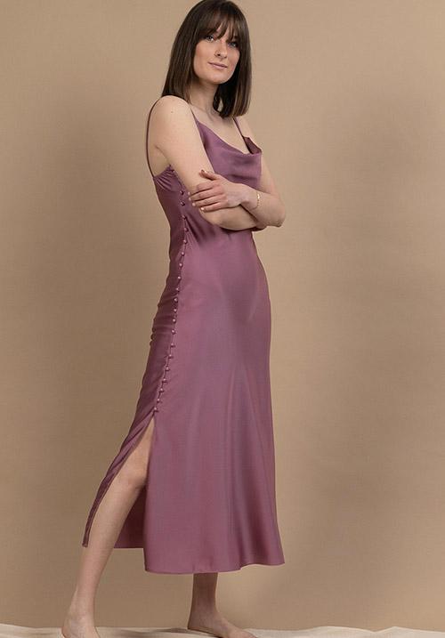 Sleek Rose Dress (SOLD OUT)